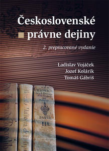 Obrázok Československé právne dejiny