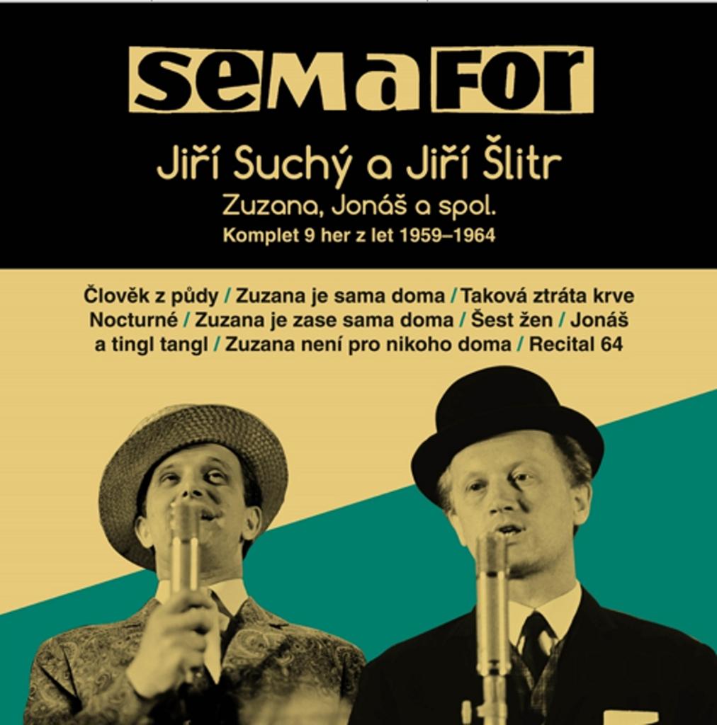 Semafor Komplet 9 her z let 1959-1964 - Jiří Suchý, Jiří Šlitr