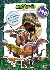 Obrázok Samolepková knížka Dinosauři