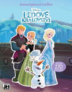 Obrázok Samolepková knížka Frozen