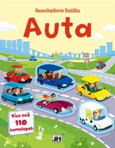 Obrázok Samolepková knížka Auta