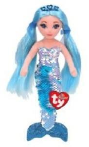 Obrázok Ty Mermaids INDIGO - modrá mořská panna s flitry 45 cm