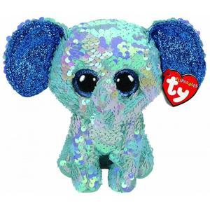 Obrázok Beanie Boos Flippables STUART slon s flitry 15 cm