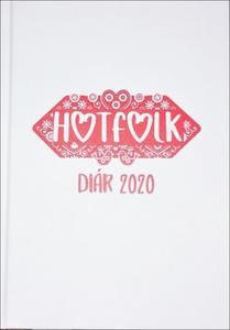 Obrázok Hotfolk diár 2020