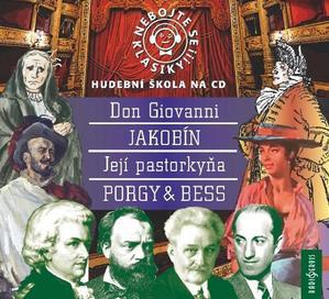 Obrázok Nebojte se klasiky 21-24 komplet opery (Hudební škola na CD, Obsahuje 4 CD)
