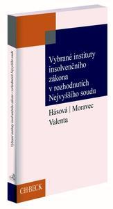 Obrázok Vybrané instituty insolvenčního zákona v rozhodnutích Nejvyššího soudu