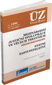 Obrázok ÚZ 1340 Mezinárodní justiční spolupráce ve věcech trestních