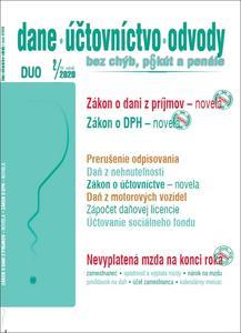 Obrázok Dane, účtovníctvo, odvody bez chýb, pokút a penále 2/2020 (XV. ročník)