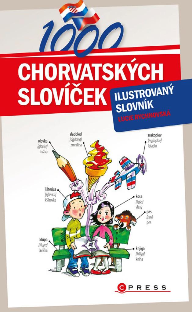 1000 chorvatských slovíček - Lucie Rychnovská