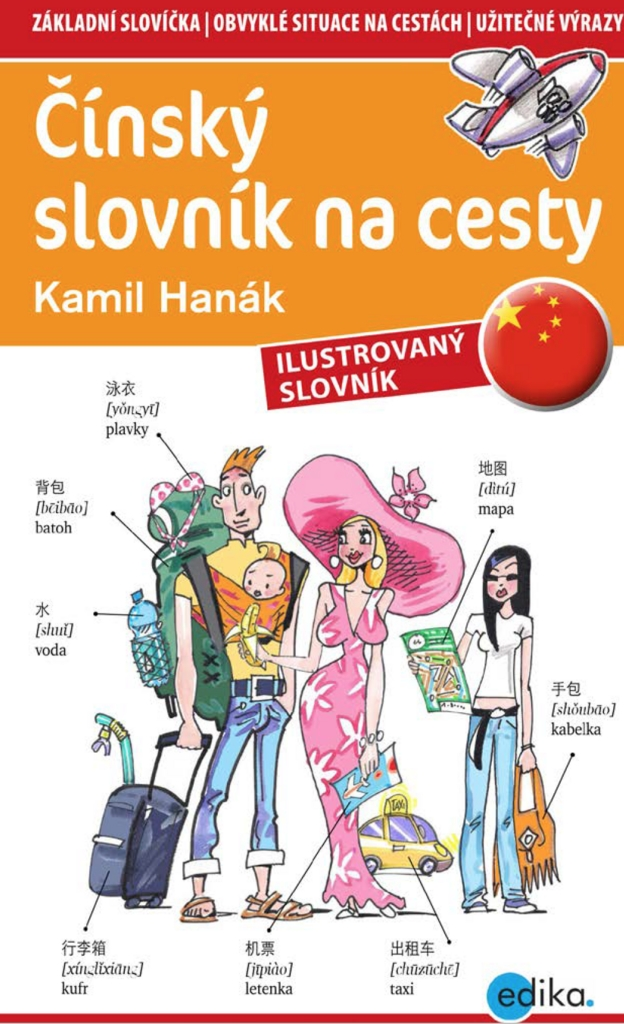 Čínský slovník na cesty - Kamil Hanák