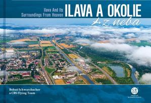 Obrázok Ilava a okolie z neba