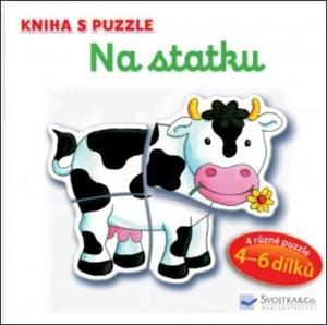 Obrázok Kniha s puzzle Na statku