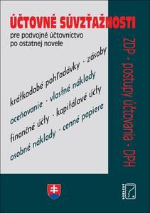 Obrázok Účtovné súvzťažnosti pre podvojné účtovníctvo po ostatnej novele (2020)