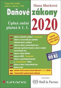 Obrázok Daňové zákony 2020