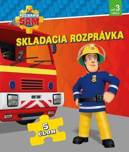 Obrázok Požiarnik Sam Skladacia rozprávka