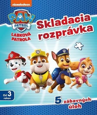 Obrázok Labková patrola Skladacia rozprávka