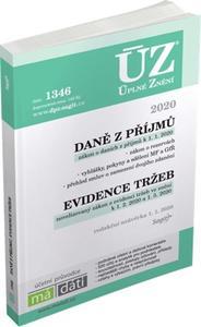 ÚZ 1346 Daně z příjmů, evidence tržeb 2020