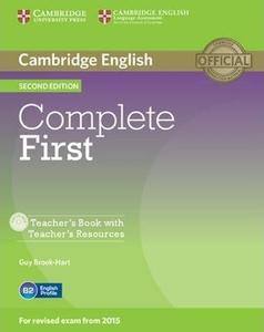 Obrázok Complete First Teacher's Book with Teacher's Resources CD-ROM