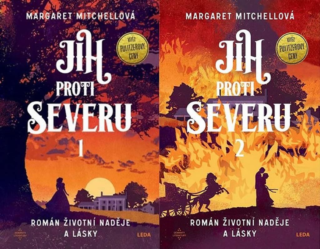 Jih proti Severu 1+2 - Margaret Mitchellová