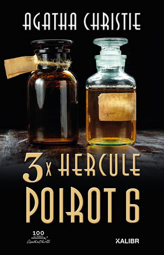 3x Hercule Poirot 6 - Agatha Christie