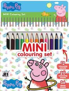 Obrázok Mini blok s pastelkami Peppa Pig