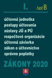 Obrázok Zákony 2020 I. časť B (Účtovné zákony úplné znenie k 1.1.2020)