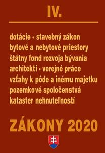 Obrázok Zákony 2020 IV. (Stavebné zákony a predpisy k 1.1.2020)