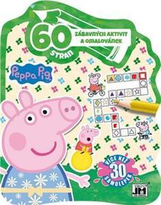 Obrázok 60 zábavných aktivit a omalovánek Peppa Pig