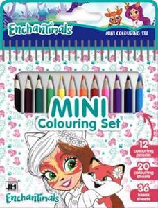 Obrázok Mini blok s pastelkami Enchantimal