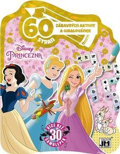 Obrázok 60 zábavných aktivit a omalovánek Princezny