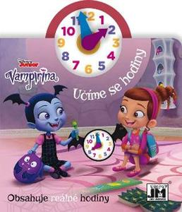 Obrázok Učíme se hodiny Vampirina
