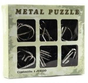 Obrázok Hlavolam kov 6ks v krabičce