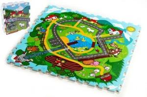 Obrázok Pěnové puzzle Město