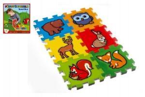 Obrázok Pěnové puzzle Moje první lesní zvířátka