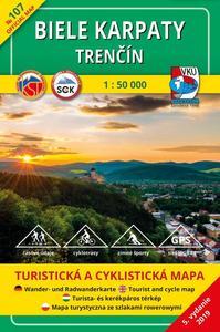 Obrázok Biele Karpaty Trenčín 1 : 50 000