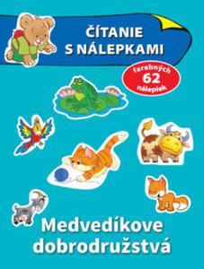 Obrázok Čítanie s nálepkami Medvedíkove dobrodružstvá