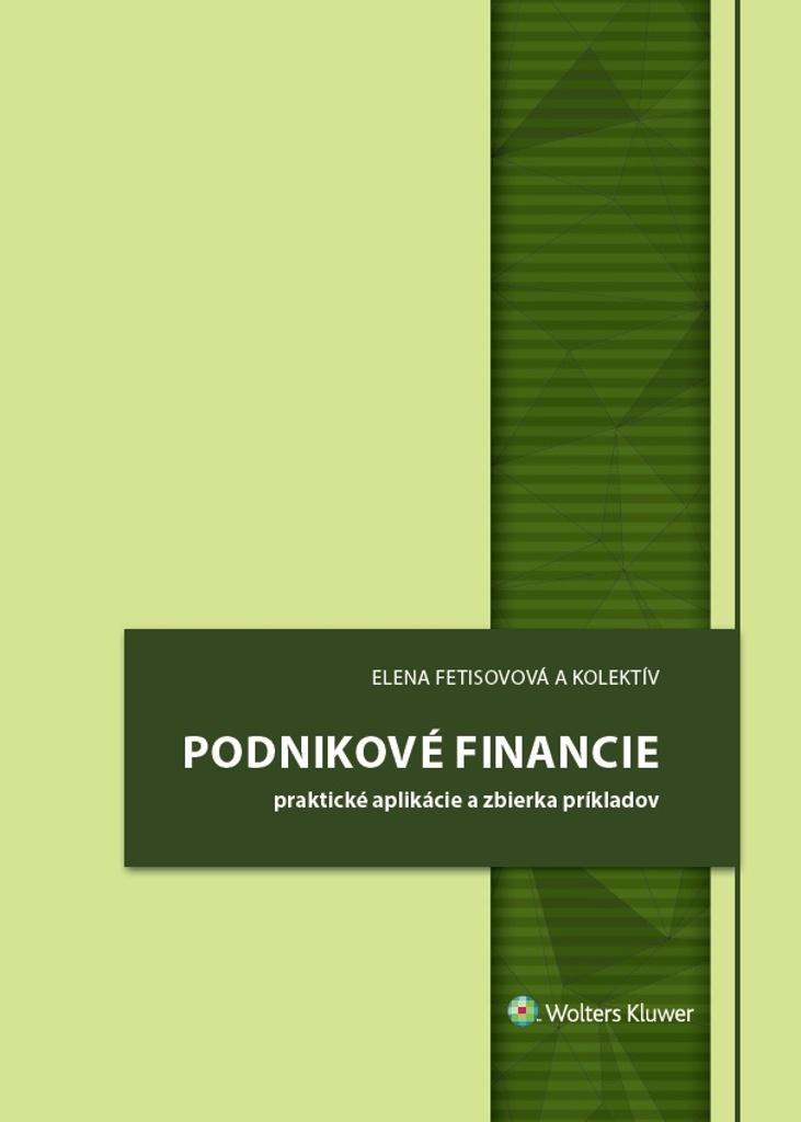 Podnikové financie - Elena Fetisovová