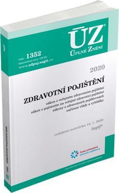 Obrázok ÚZ 1352 Zdravotní pojištění 2020