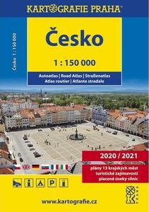 Česko autoatlas 1 : 150 000