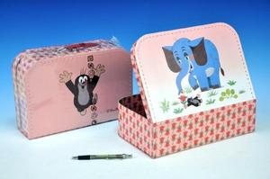 Obrázok Šitý Kufřík/Kufr Krtek a slon