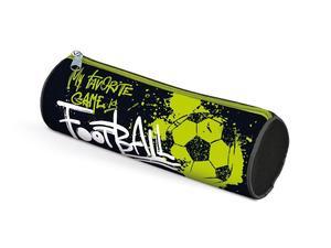 Obrázok Penál etue válcová Fotbal