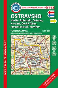 Obrázok KČT 61-62 Ostravsko 1:50 000