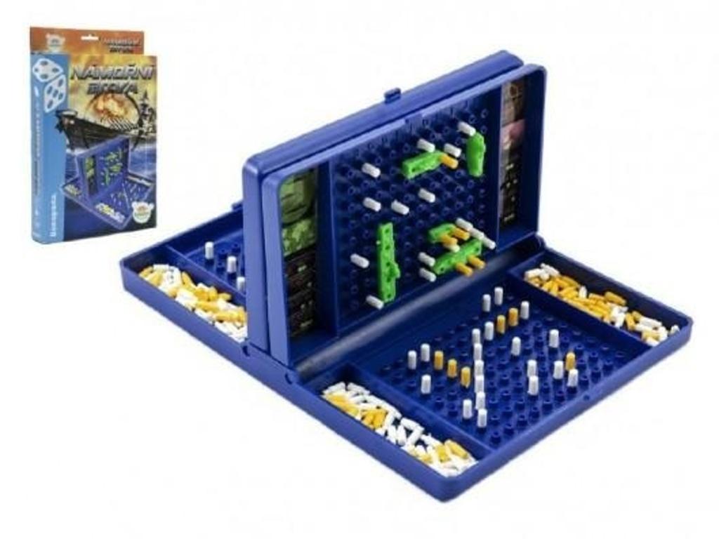 Hra lodě Námořní bitva společenská hra v krabici