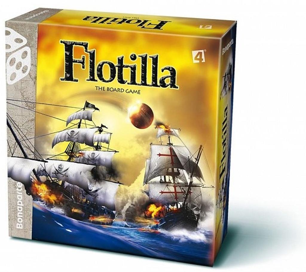 Flotilla námořní bitva společenská hra lodě v krabici