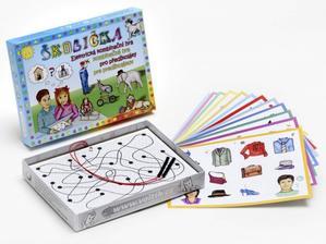 Obrázok Školička společenská hra na baterie v krabici