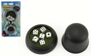 Obrázok Hrací kostky s kelímkem