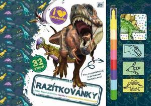 Obrázok Razítkovánky Dinosauři