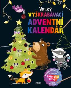 Obrázok Velký vyškrabávací adventní kalendář