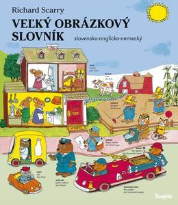 Obrázok Veľký obrázkový slovník slovensko-anglicko-nemecký