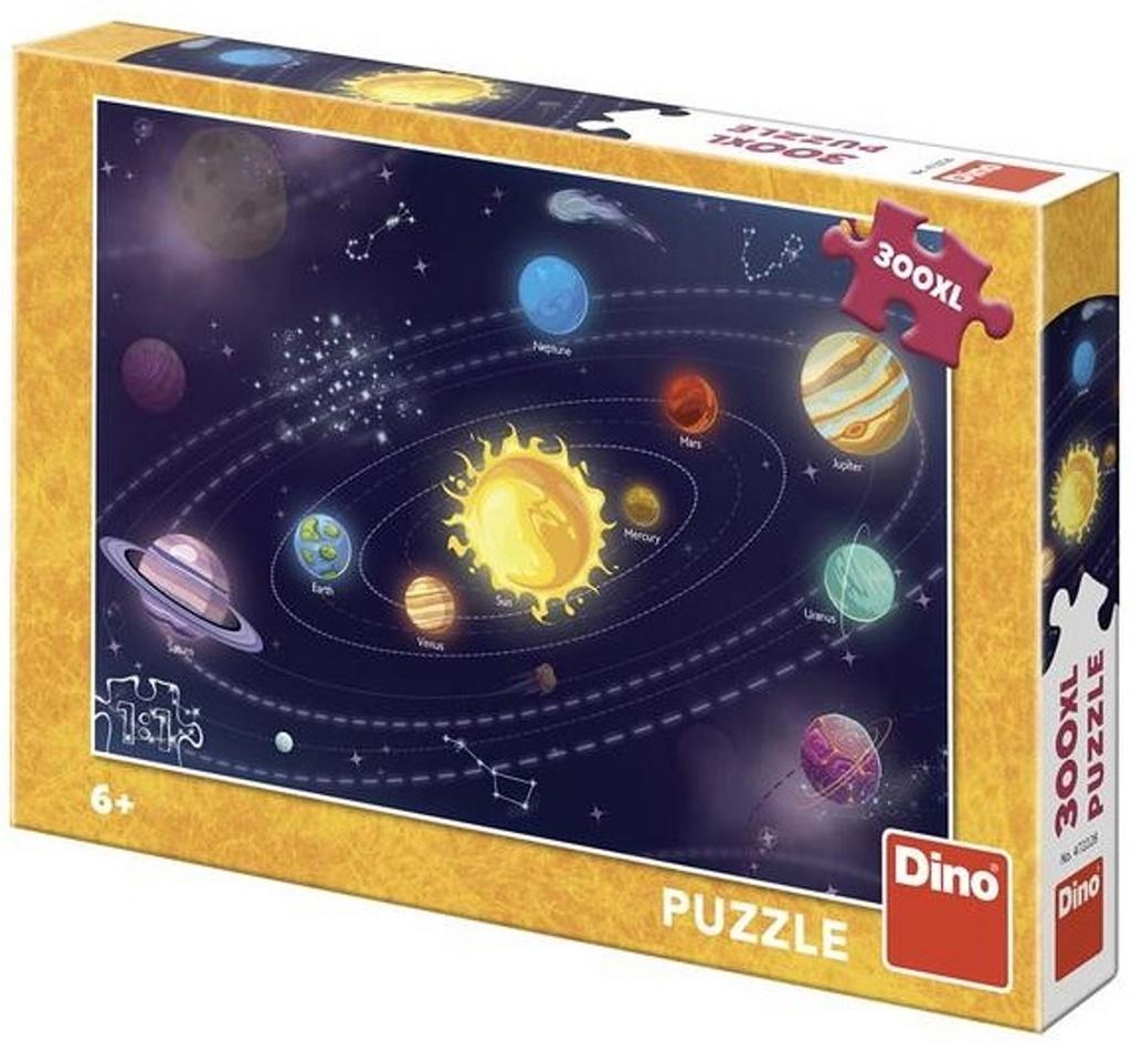 Dětská sluneční soustava 300 XL Puzzle nové
